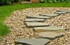 Stepping Stone Paths Using Fieldstone