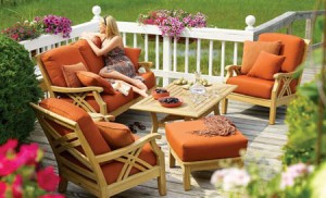 Fabric Garden Furniture Cushions